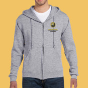 Volleyball - 82230-PF Fruit of the Loom 12oz. Supercotton™ 70/30 Full-Zip Hood