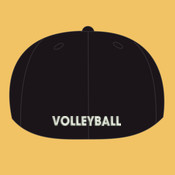 Volleyball - 6277-PF Flexfit Adult Wooly 6-Panel Cap