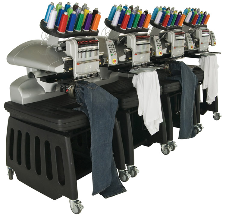 Embroidery information page pfeiffer university athletics spiritwear like conventional machines which shut down production of all heads in addition to the ability to handle large production jobs the heads can operate ccuart Gallery