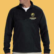 Swimming - M980-PF - Adult 8 oz. Quarter-Zip Fleece Pullover