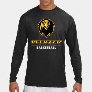 Basketball - N3165-PF A4 Long-Sleeve Cooling Performance Crew Neck T-Shirt Thumbnail