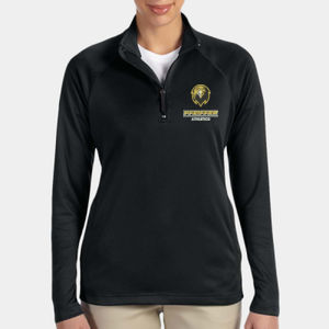 Athletics - DG440W-PF - Ladies' Stretch Tech-Shell® Compass Quarter-Zip Thumbnail