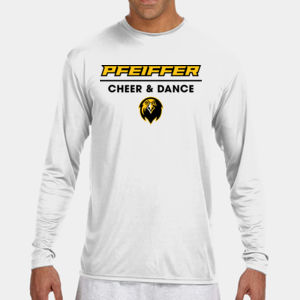 Cheer & Dance - N3165-PF A4 Long-Sleeve Cooling Performance Crew Neck T-Shirt Thumbnail