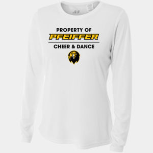 Cheer & Dance - NW3002-PF A4 Ladies' Long Sleeve Cooling Performance Crew Shirt Thumbnail