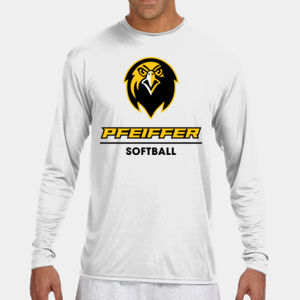 Softball - N3165-PF A4 Long-Sleeve Cooling Performance Crew Neck T-Shirt Thumbnail