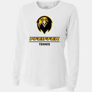 Tennis - NW3002-PF A4 Ladies' Long Sleeve Cooling Performance Crew Shirt Thumbnail