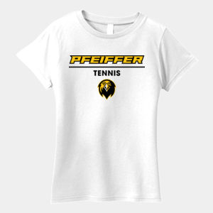 Tennis - 880-PF Anvil Ladies' Ringspun Lightweight T-Shirt Thumbnail
