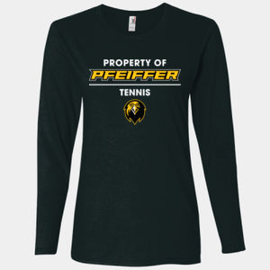 Tennis - 884L-PF Anvil Ladies' Ringspun Long-Sleeve T-Shirt Thumbnail