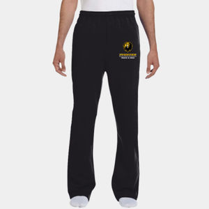 Track & Field - 974MP-PF Jerzees 8oz., 50/50 NuBlend® Open-Bottom Sweatpants Thumbnail