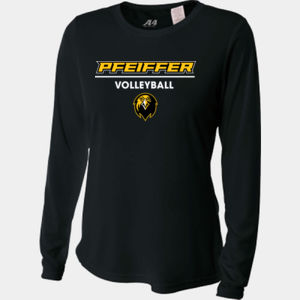 Volleyball - NW3002-PF A4 Ladies' Long Sleeve Cooling Performance Crew Shirt Thumbnail