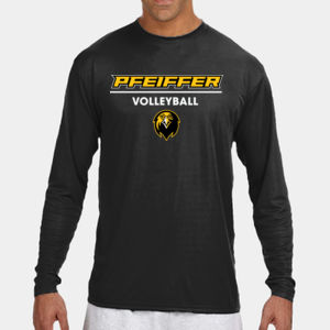 Volleyball - N3165-PF A4 Long-Sleeve Cooling Performance Crew Neck T-Shirt Thumbnail