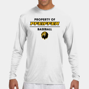 Baseball - N3165-PF A4 Long-Sleeve Cooling Performance Crew Neck T-Shirt Thumbnail