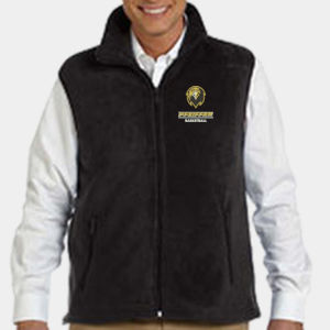 Basketball - M985-PF -  Adult 8 oz. Fleece Vest Thumbnail