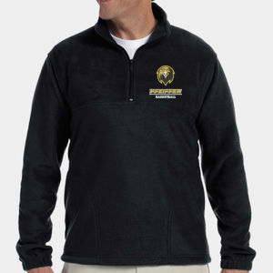 Basketball - M980-PF - Adult 8 oz. Quarter-Zip Fleece Pullover Thumbnail