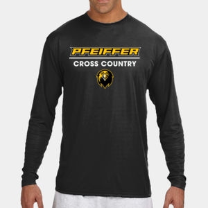 Cross Country - N3165-PF A4 Long-Sleeve Cooling Performance Crew Neck T-Shirt Thumbnail