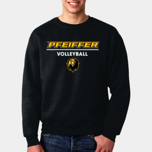 Volleyball - 82300-PF Fruit of the Loom 12oz.Supercotton™ 70/30 Fleece Crew Thumbnail