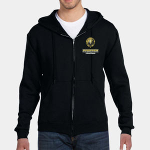 Volleyball - 82230-PF Fruit of the Loom 12oz. Supercotton™ 70/30 Full-Zip Hood Thumbnail